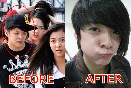Idols : Before and After Make Up
